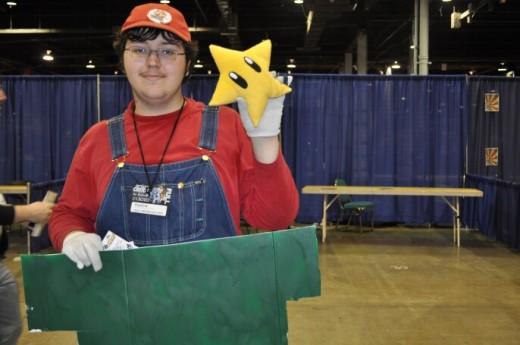 Mario at Anime Central