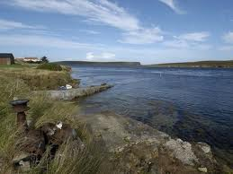 Eday in the Orkneys, one of the smaller inhabited isles to the north of Mainland, the largest of the Orkney Islands