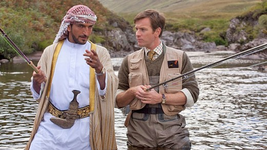 Amr Waked and Ewan McGregor