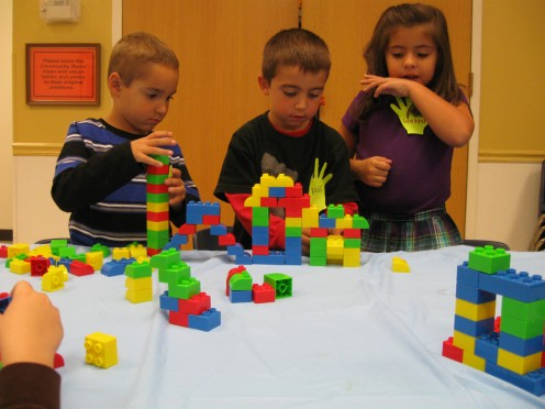 Lego and Duplo blocks combine learning and fun!