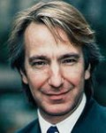 Alan Rickman - only turned to acting in his 30s