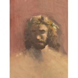 Prince of Peace. He painted this when he found his faith in 1980.