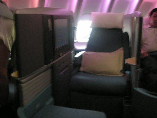 Business Class solo seats