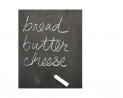 What is the difference between cheese and butter?