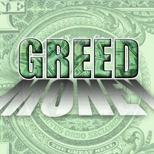 Greed is the Creed of our Psychopathic Leaders, if you want the Truth follow the money . . .