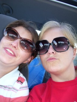 This me and my sister Heather!