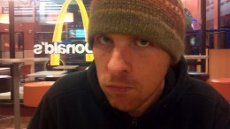 I was mean and took him to McD's while his jaw was wired shut. He would not smile for me.