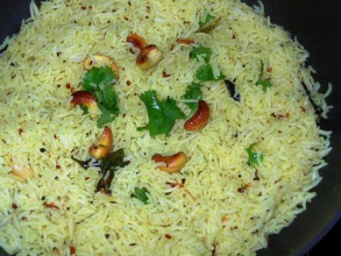 You can make bismati rice plain or flavor it with spices, nuts, raisins and fresh herbs.