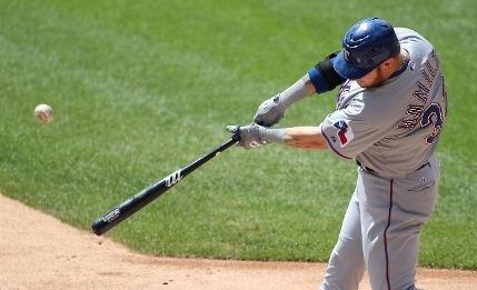 The unique uppercut swing of Josh Hamilton