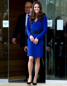Kate wore a dress that look similar to her Mom's