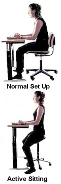 How to be Active Sitting with Better Posture, Less Sitting Risks