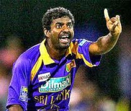 Muthiah Muralitharan took three crucial wickets in the match