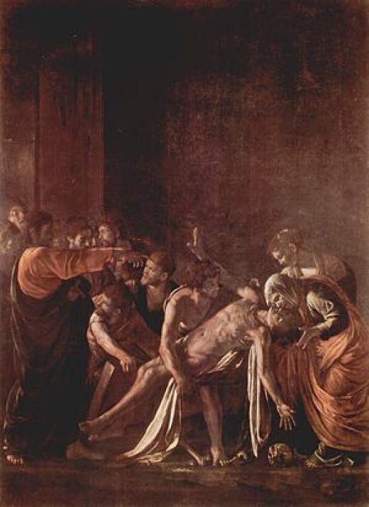 The Raising of Lazarus (Figure 5)