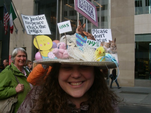 There's even an Occupy Wall Street bonnet!