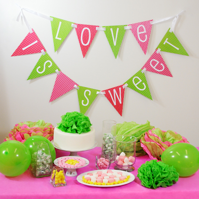 I love this idea for a wedding shower