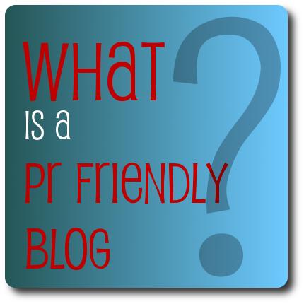 PR Friendly Blogs are Ad Friendly Blogs