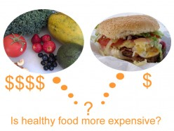 Is healthy food more expensive?