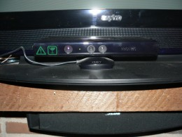 My Kinect Device, I adjusted the Kinect device upwards to get better picture and it corrected it's self back to its original  position for coverage of the playing area.  It is capable of adjustment upwards or downwards via command from X-Box console.