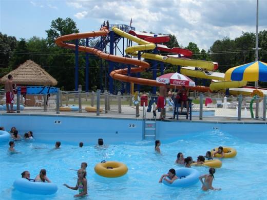 Somer splash park