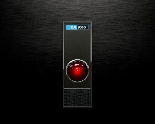 Hal 9000 Computer from a 2001: A Space Odyssey