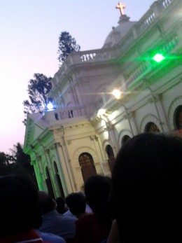 St. Marks Cathedral,Bangalore. Sunrise service, Easter,8 th April 2012