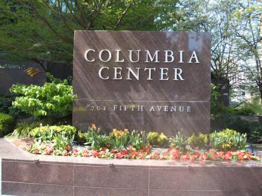 Ground Level, Columbia Center, Seattle, Washington