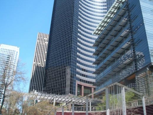 Bottom Third, Columbia Center, Seattle, Washington