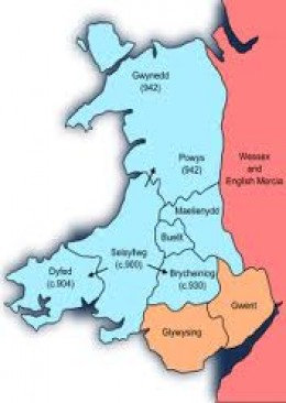 Clashes with the Norsemen in Wales were a lot less frequent than those elsewhere in Britain, possibly because they and the Welsh were trading partners and supported the Welsh against the West Saxons (as at Brunanburh)