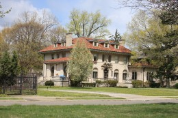 Historic Mansion, Boston-Edison Historic District, Detroit (Occupied in the 1960s by Berry Gordy)