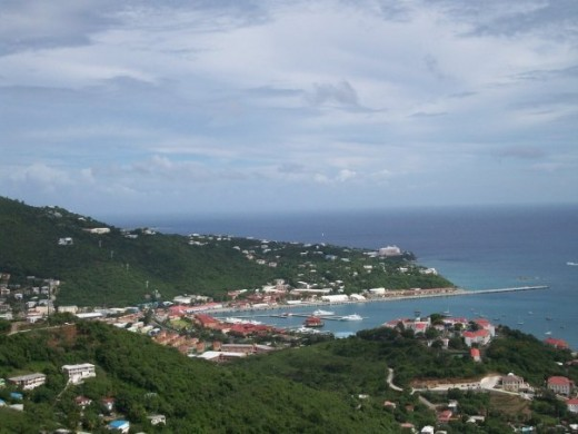 Overlooking St. Thomas