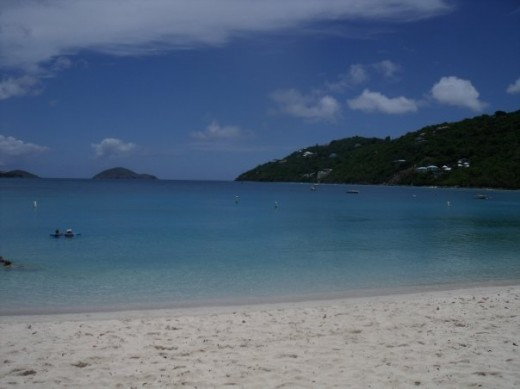 Magen's Bay a wonderful place to spend the day.