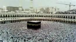 The Kaaba during Hajj