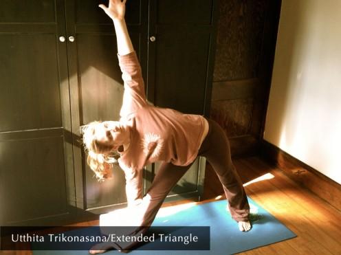 Utthita Trikonasana/Extended Triangle