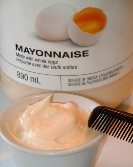 Spare a small jar of mayonnaise for your weekly hair ritual and you will be happy for the difference it makes.