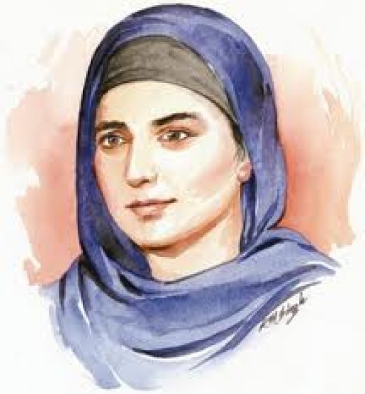 A Sheikha Woman, as Maryam Kabeer Faye became a Sheikha during her Journey Through Ten Thousand Veils.