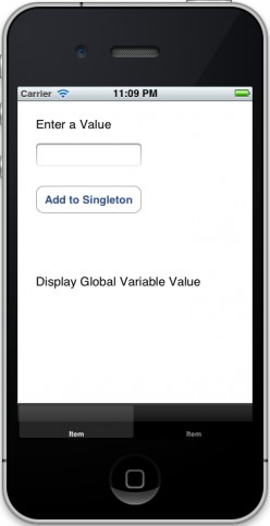iOS | How - To Share Data Between View Controllers using a Singleton