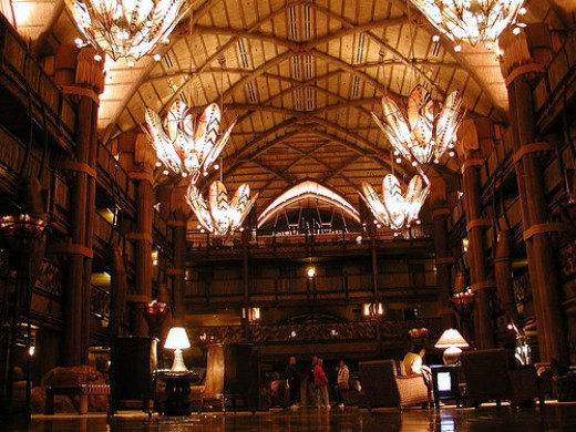 Part of the property is known as Animal Kingdom Lodge Villas,