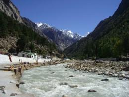 The Bhagirathi River at Gangotri