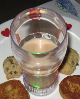 Milk and Cookies...a dangerous treat