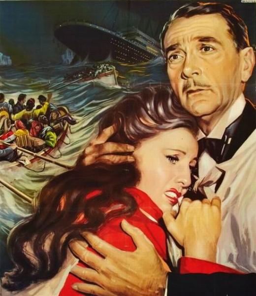 Titanic 1953 poster
