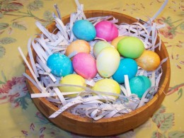 Eggs in Paper