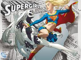 I COULD COUNT ON SUPERGIRL TO TAKE UP THE SLACK IF I EVER GOT INTO A FIGHT.
