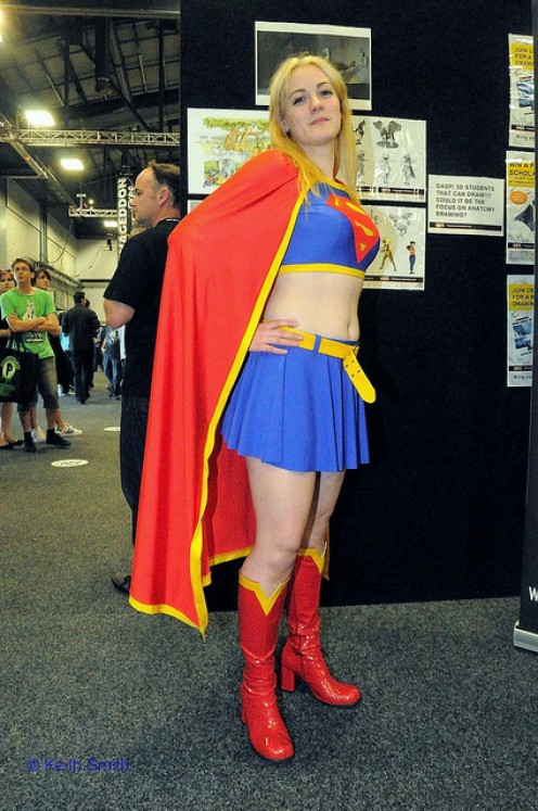 THIS IS A BAD EXCUSE FOR SUPERGIRL.