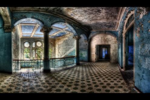 Beelitz-Heilstätten Sanatorium in Germany