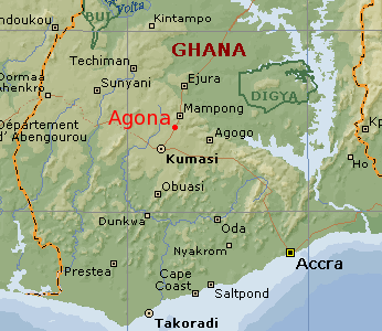 Kwaaman is now known as Kumasi
