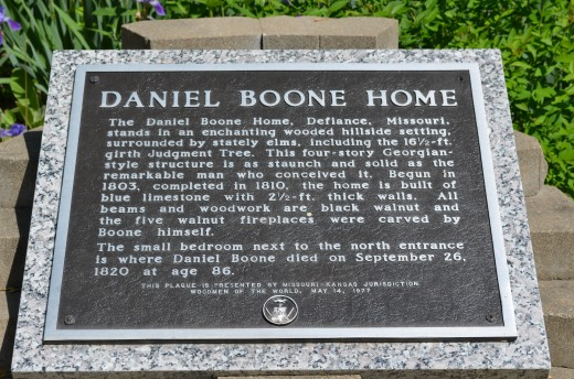 Daniel Boone Home Information