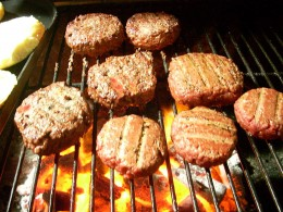 To me nothing tastes as good grilled as hamburgers cooked over charcoal. Gas to me adds a flavor I don't like.