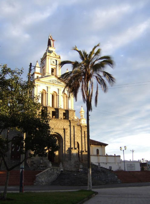 Cotacachi Cathedral, Ecuador
