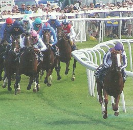 The Epsom Derby is one of England's Triple Crown races.