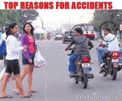 Why Accident happens on Indian Road